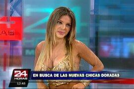 Vanessa Jerí inicia casting a nivel nacional para buscar a las Chicas Doradas
