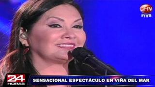 Viña del Mar 2014: Ana Gabriel deslumbró al público de la Quinta Vergara