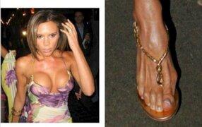 Insólito: lanzan lista con las celebridades que tienen lo pies más feos