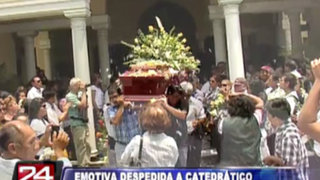 La Molina: fueron sepultados los restos de decano de la Universidad Agraria