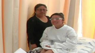 Adolescente supera su discapacidad gracias a proeza médica peruana