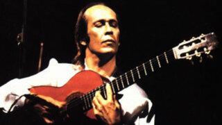 México: murió Paco de Lucía, el guitarrista que popularizó el flamenco