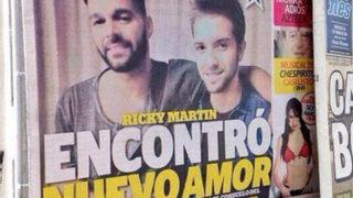 Prensa mexicana informa que cantante Ricky Martin se volvió a enamorar