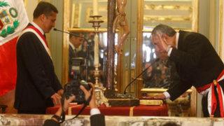 Premier René Cornejo aseguró que solo rendirá cuentas al presidente Humala