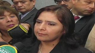"""Ana Jara: No hay personas """"mangoneadas o peleles""""  en el Gobierno"""