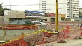 Miraflores: obra inconclusa de El Metropolitano pone en peligro a transeúntes