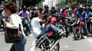 Parlamento europeo pidió a Maduro desarmar grupos oficialistas armados