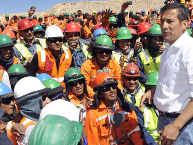 Presidente Humala: Proyecto Majes Siguas II generará 200,000 puestos de trabajo