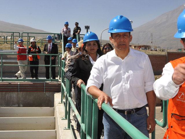 Arequipa: presidente Ollanta Humala inició obras del proyecto Majes Siguas II
