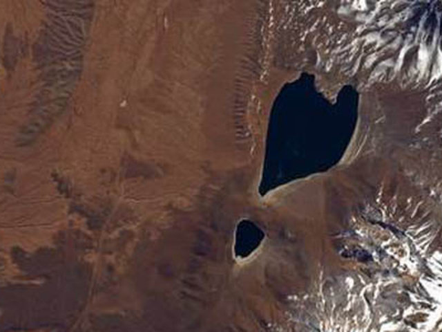 Lago chileno en forma de un corazón sorprende al mundo