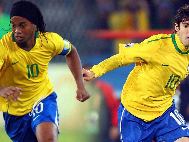Ronaldinho y Kaká fuera de la última convocatoria de Brasil antes del Mundial
