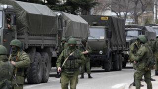 El Parlamento ruso aprobó el despliegue de tropas en Ucrania