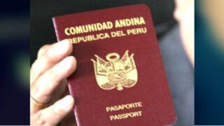 Pasaporte electrónico estaría listo para setiembre u octubre de este año