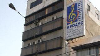 Indecopi suspendió por un año a consejo directivo de Apdayc