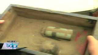 VIDEO: Estos son los artefactos explosivos que halló la policía en La Parada