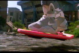 Skate volador de 'Volver al Futuro' se hace realidad y llegaría en diciembre