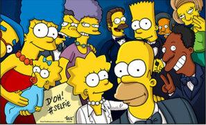 FOTOS: 'Los Simpson' y Lego parodian famoso selfie de los Premios Óscar