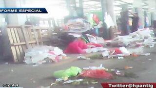 Denuncian que situación en mercado de Santa Anita es igual o peor que La Parada