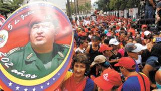 Venezuela: conmemoran el primer año de la muerte de Hugo Chávez