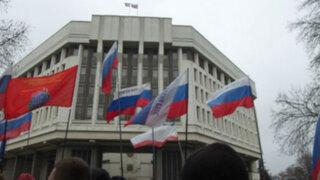 Crimea: Parlamento aprueba incorporación a Rusia y convoca referéndum