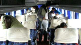 Pativilca: asaltan bus interprovincial con 50 pasajeros abordo