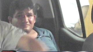 Ate: capturan a sujeto que estaría implicado en asesinato de Carlos Burgos hijo