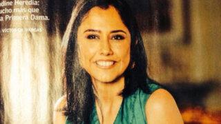Error en fotografía de Nadine Heredia genera críticas y burlas entre cibernautas