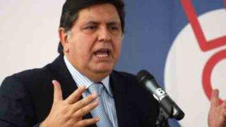 Alan García denuncia que Venezuela 'compró conciencias' en Latinoamérica