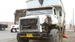 Camión atropelló a cuatro personas y mató a una en paradero de Carabayllo
