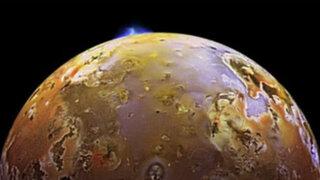 VIDEO: Nasa capta increíble erupción en tercera luna de Júpiter