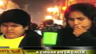 A ciegas en la calle: luchando contra la oscuridad en la gran Lima