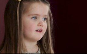 VIDEO: la historia de la pequeña que donó su cabello a niños con cáncer
