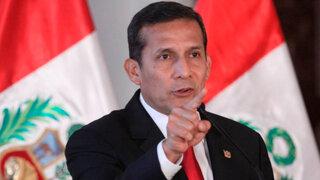 Encuesta Ipsos: aprobación de Ollanta Humala bajó a 25%