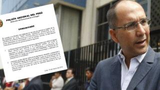 Policía Nacional deplora la agresión de Pablo Secada a miembro de la institución
