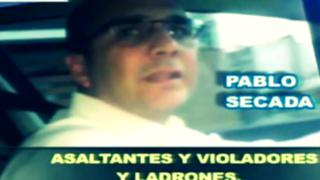 """La furia de Secada: video revela lado """"narcisista"""" y """"soberbio"""" de regidor"""