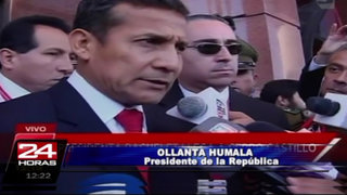 Presidente Humala ve con optimismo la nueva gestión de Michelle Bachelet
