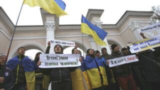 Ucrania: parlamento de Crimea declara su territorio como independiente