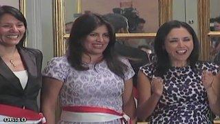 Ruptura de protocolo de Nadine Heredia provocó fuertes críticas de oposición