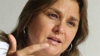 Marisol Pérez Tello: Solo hay un precandidato en el PPC y es Rafael Santos