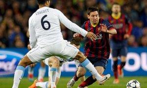 Barcelona venció 2-1 al Manchester City y está en cuartos de la Champions