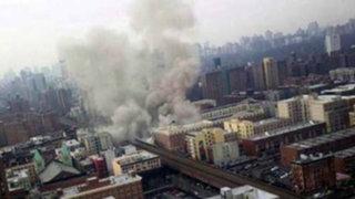 EEUU: tres muertos y más de 60 heridos tras explosión en edificios