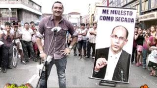 La hinchada se molestó al estilo 'Pablo Secada' tras arribo de Bengoechea a Lima