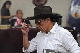 Antauro Humala lamentó que PJ decida que no devolverá los 70 mil soles