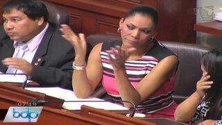 Congresista Cenaida Uribe puso condiciones para acudir ante comisión de ética