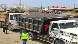Intervienen camiones de carga que ponían en riesgo a ciudadanos