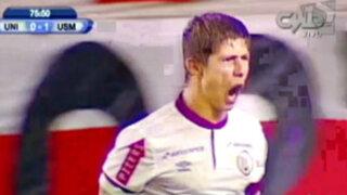 Universitario consigue empate (1 - 1) contra San Martín por la Copa Inca