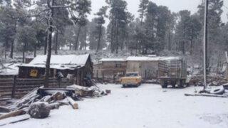 Continúa amenaza por fuertes tormentas de nieve al norte de EEUU