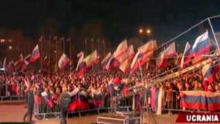 Ucrania: Parlamento crimeo pidió formalmente ser parte de Rusia