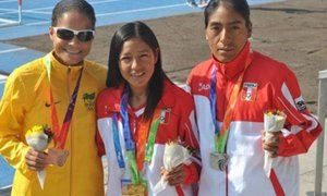 Inés Melchor y la delegación peruana arribaron a Lima tras logros en los Odesur