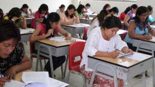 Más de 48 mil profesores rendirán examen para cargos de directores y subdirectores